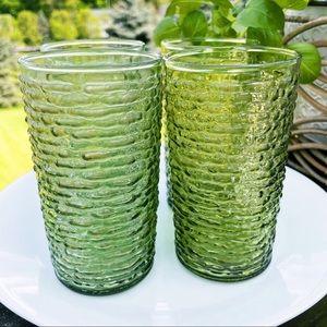 Highball Glasses Soreno Avocado Green